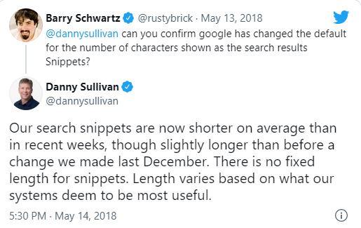 Danny Sullivan extension meta descripcion